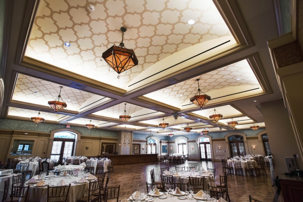 Upon completion...the grand ballroom of Larkfield Manor