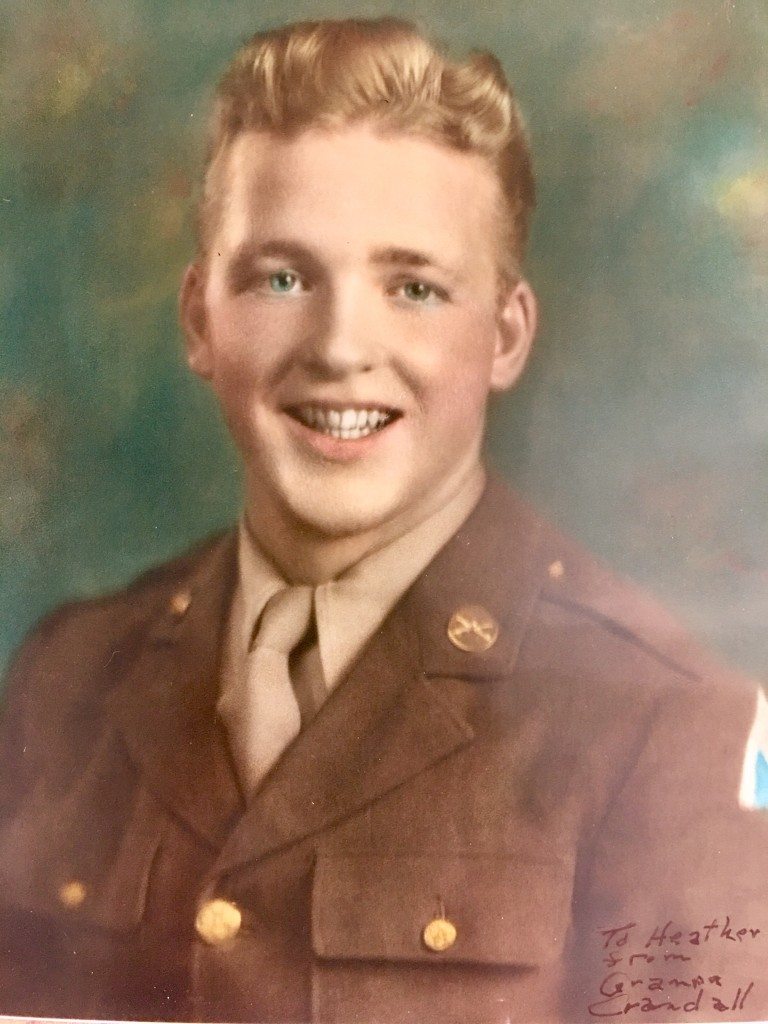 My beloved grandfather, Leslie Gene Crandall - World War II - stationed in the Philippines