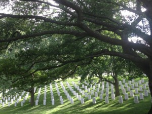 Arlington National Cemetery - located next to Fort Myers Military Base